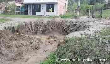 Emergencia en Gachetá, Cundinamarca, por fuertes ola invernal - Noticias Día a Día