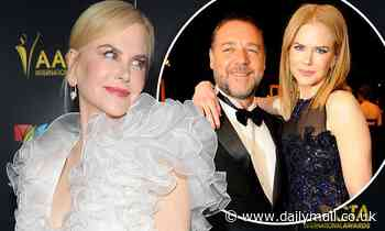 Nicole Kidman and Russell Crowe unite for a surprise new role together ahead of the AACTA Awards
