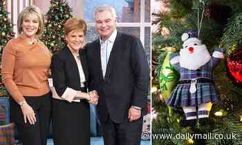 This Morning 'Bauble-gate' row that ended with Eamonn Holmes and Ruth Langsford being sacked