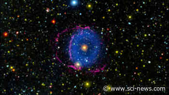Stellar Merger Produced Blue Ring Nebula Several Thousand Years Ago | Astronomy - Sci-News.com