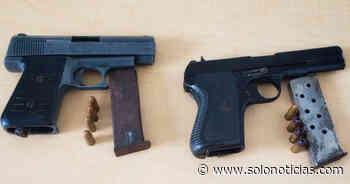 Capturan a pandilleros armados que delinquían en Cuscatancingo - Solo Noticias