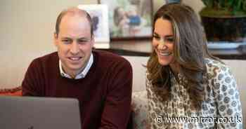 Prince William and Kate worried dads 'just don't know what to do' in lockdown
