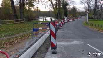 Les travaux de la future voie verte ont débuté aux abords de l'Allier à Cournon. A terme les 26 km entre Po... - RCF