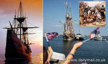 Celebrations marking the arrival of the Pilgrims on the Mayflower go without ceremony