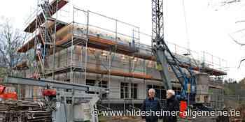 Hildesheim: Der Neubau für St. Ansgar geht sichtlich voran - www.hildesheimer-allgemeine.de