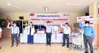 Implementan Hospital Higa Arakaki de Satipo con equipos biomédicos - Diario Correo