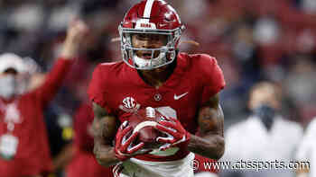 Alabama star wide receiver DeVonta Smith sets SEC record for career touchdown receptions