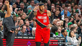 NBA free agency: Carmelo Anthony re-signing with Trail Blazers, per report