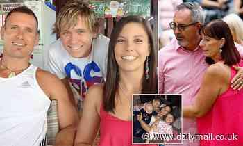 Son of killer dad Rowan Baxter who murdered Hannah Clarke in Queensland street sues HER parents