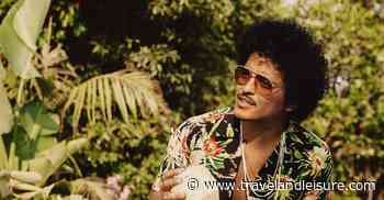Bruno Mars Wants You to Know His Rum Collection Is 'Vacation in a Glass' - Travel+Leisure