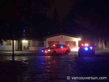 Surrey Hells Angels clubhouse searched by RCMP in gun investigation