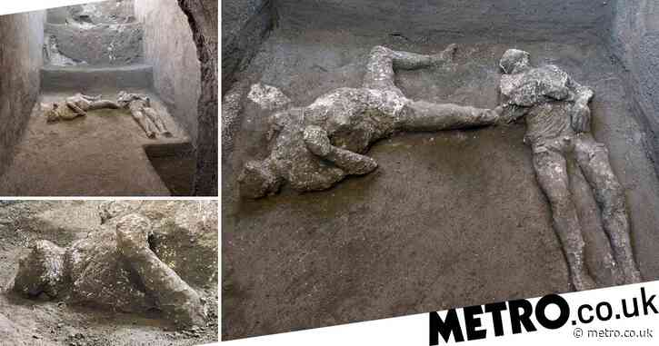 Pompeii dig unearths bodies of master and slave killed in eruption 2,000 years ago