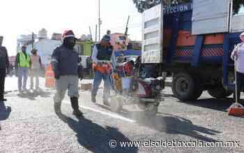 """Hacen """"talacha"""" en Apizaco con el dinero de parquímetros - El Sol de Tlaxcala"""