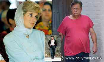 Heart surgeon who had a two-year fling with Princess Diana is spotted putting out the bins at home