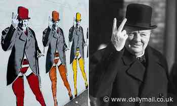 Mural of Winston Churchill attracts complaints from woke brigade