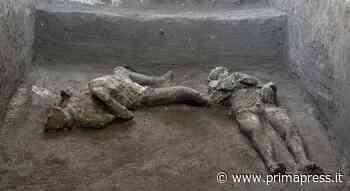 Archeologia: ritrovati a Pompei due corpi completamente intatti nella Villa di Civita Giuliana - PrimaPress