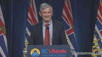 BC Liberal Leader Andrew Wilkinson stepping down