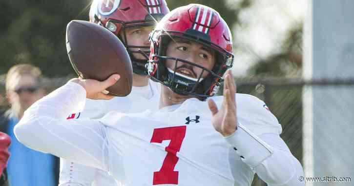 Quarterback Cameron Rising starts season opener for Utah