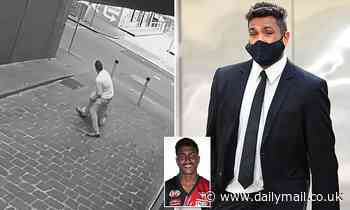 Calls for footy player who dragged a nurse into an alleyway and tried to rape her to be re-tried