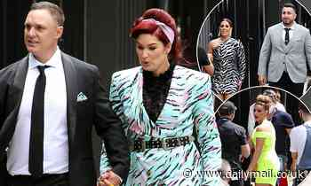 The Block contestants dress to impress as they arrive on-set for auction day in Melbourne