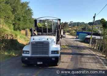 Queman 2 vehículos en límites de Coalcomán y Tepalcatepec - Quadratín - Quadratín Michoacán