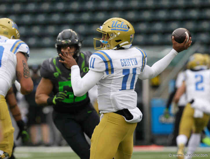 Alexander: UCLA's Chase Griffin steps up and almost delivers an upset