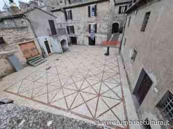 Lugnano in Teverina: la Piazzetta della Loggia si fa bella - Umbria e Cultura