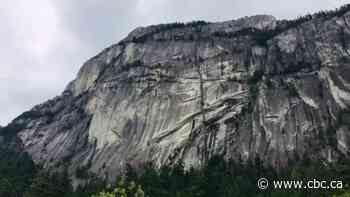 Squamish Search and Rescue plucks paraglider off Stawamus Chief