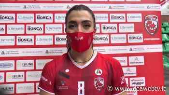 """Volley A1/F – Cuneo-Busto Arsizio 3-2, l'mvp Candi: """"Vittoria speciale, abbiamo dimostrato che siamo sempre le stesse"""" (VIDEO) - IdeaWebTv"""