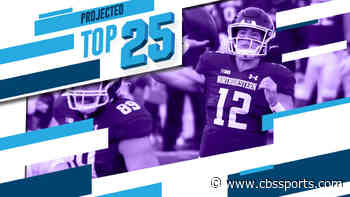 Tomorrow's Top 25 Today: Northwestern crashes top 10 of new college football rankings