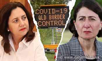 NSW and Queensland border feud continues between Gladys Berejiklian and Annastacia Palaszcuk