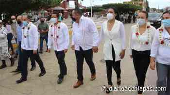 Entregan equipamiento a policías municipales en Arriaga - Diario de Chiapas