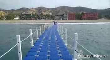 Construyen el primer muelle flotante en playa Zorritos de Tumbes | LRND - LaRepública.pe