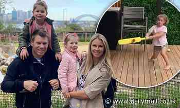 Candice Warner dotes on children after booted off SAS Australia