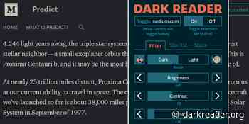 Dark Reader – Enable Dark Mode on all Websites