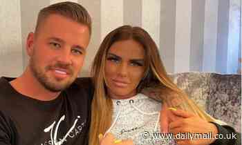 Katie Price celebrates six months dating Carl Woods