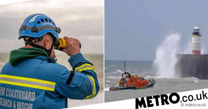Huge search continues for missing crew after fishing boat sinks