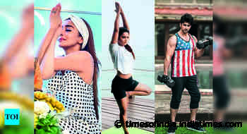 #Fitspiration: Celebrities share tips to shed that festive flab - Times of India