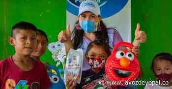 Niños de resguardo indígena en Orocué recibieron kits de higiene oral - Noticias de casanare - La Voz De Yopal