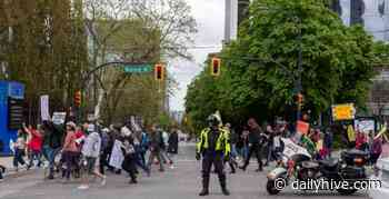 """Vancouver Police say they're """"aware"""" of planned anti-lockdown protests 