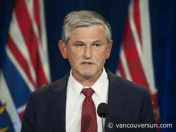 Andrew Wilkinson quits as leader of the B.C. Liberal Party - Vancouver Sun