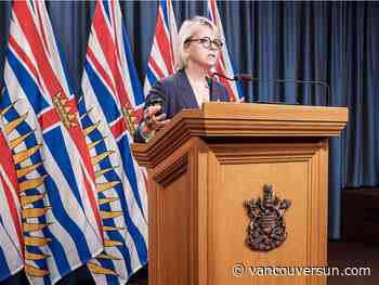 COVID-19: B.C. health officials announce 516 new cases, 10 additional deaths - Vancouver Sun