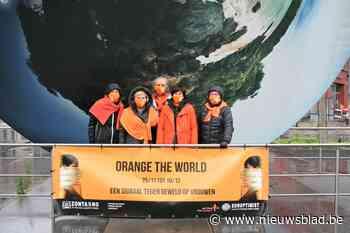 "Sint-Niklaas kleurt oranje: ""Geweld tegen vrouwen kan onder geen enkel beding"""