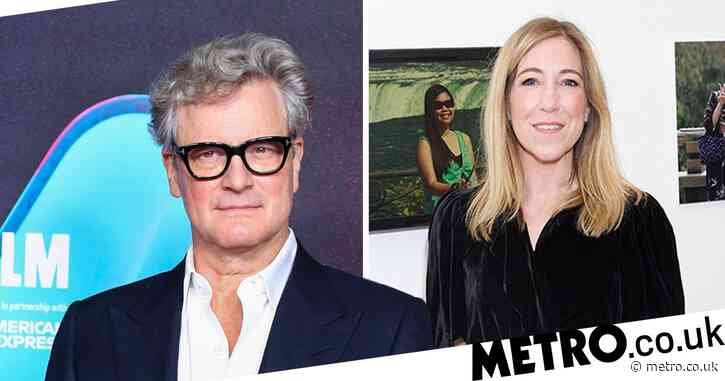Colin Firth sparks romance rumours with BBC's Joanna Gosling a year after splitting from wife