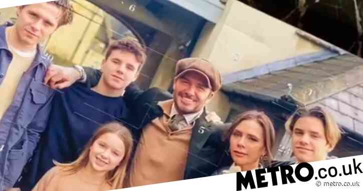 Victoria Beckham hilariously pokes fun at husband David's teeth as Spice Girl fan sends her 'incredible' gift