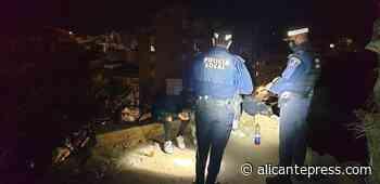 La Policía disuelve un botellón en el castillo de San Fernando - Alicantepress.com