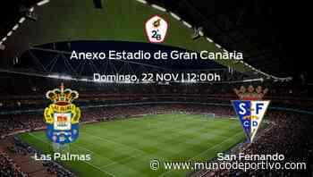 Previa del encuentro: Las Palmas At. recibe al San Fernando - Mundo Deportivo