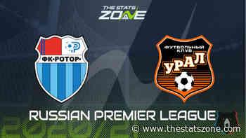 Russian Premier League 2020-21 - Rotor Volgograd vs Ural Preview & Prediction - The Stats Zone
