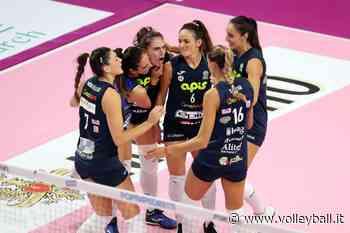 A1 F.: Casalmaggiore-Monza apre la tre giorni rosa. Domani debutta Mazzanti - Volleyball.it