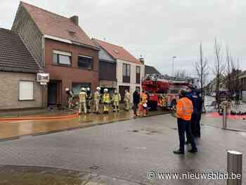 Kerstboom veroorzaakt felle brand: vrouw (52) met zware intoxicatieverschijnselen naar ziekenhuis gebracht